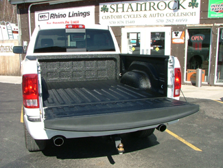Rhino Truck Bed Liner >> Rhino Lining Shamrock Custom Cycles And Auto Collision